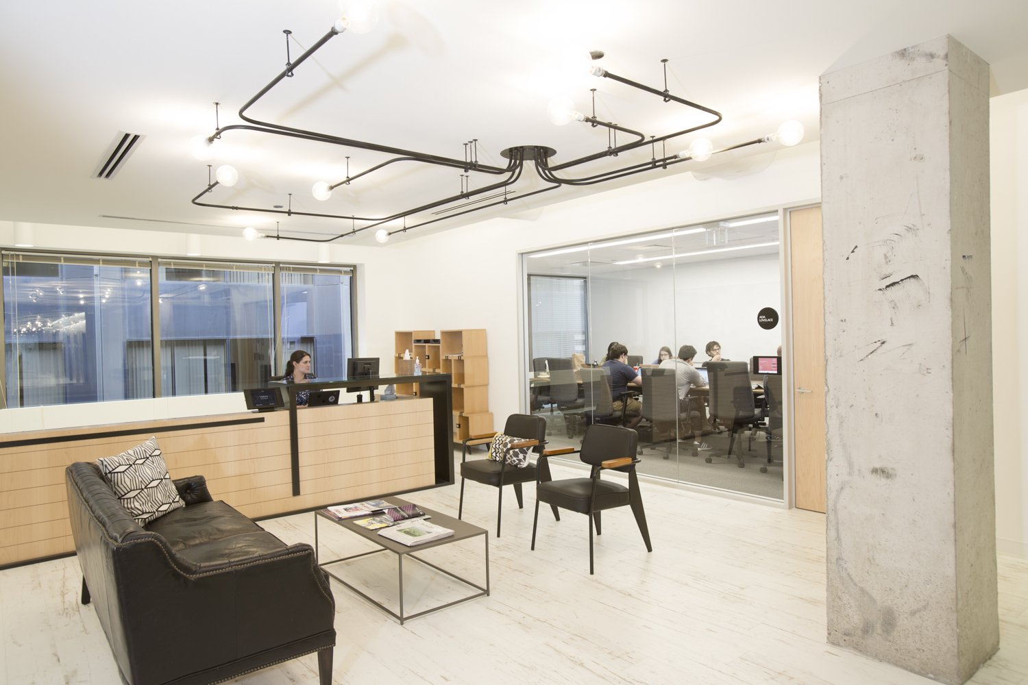 Civis Chicago Office Boardroom