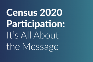 Whitepaper: Census 2020 messaging