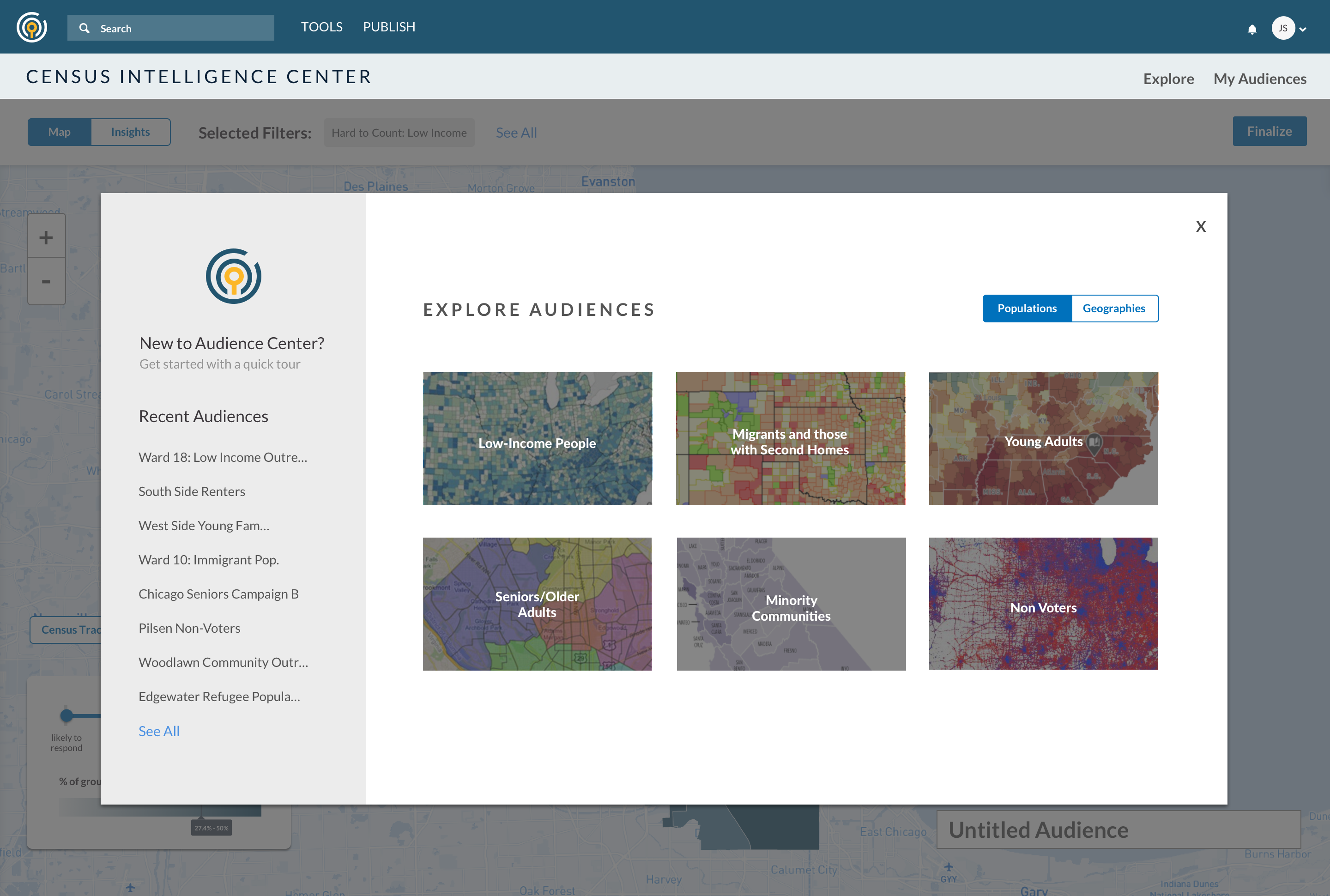 Explore Audience of Census Intelligence